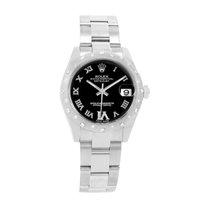 Rolex Lady-Datejust Acero 31mm Negro Romanos