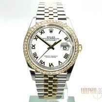 Rolex Datejust neu 2019 Automatik Uhr mit Original-Box und Original-Papieren 126283RBR