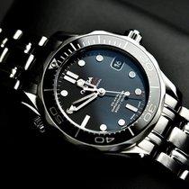 Omega Seamaster Diver 300 M Acier 36mm Noir Sans chiffres