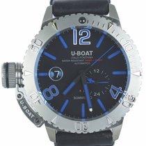 U-Boat Classico Сталь 46mm Синий Aрабские