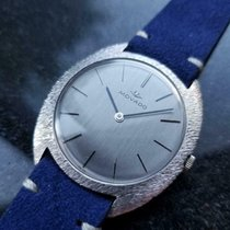 Movado Or blanc 35mm Remontage manuel occasion