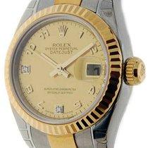 Rolex Lady-Datejust nuevo 2005 Automático Reloj con estuche y documentos originales 179173