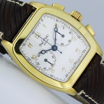 Paul Picot Firshire Gelbgold 34mm Silber Arabisch