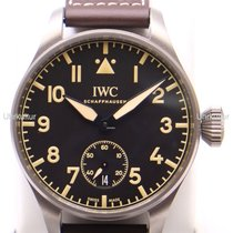 IWC Titânio 48mm Corda manual IW510301 novo