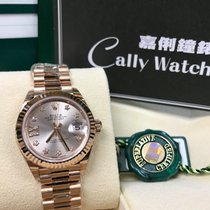Rolex Red gold Automatic new Lady-Datejust