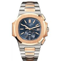 Patek Philippe Nautilus Stainless Steel and Rose