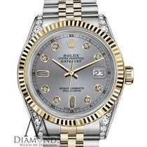 Rolex Lady-Datejust Gold/Steel 26mm Grey