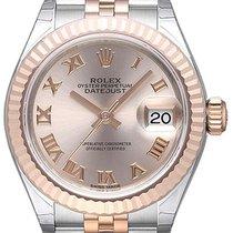 Rolex Lady-Datejust 28 279171 Sundust Römisch Jubile-Band
