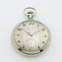 Longines Vintage Pocket Watch Silver