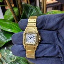 Cartier Santos REF: 1569 yellow Gold 18K 24X35mm Sq. Auto year...