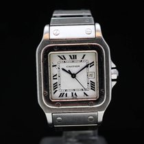 Cartier Santos (submodel) pre-owned Steel
