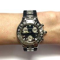 Cartier CHRONOSCAPH 21 Steel Men's/Unisex Watch w/ DIAMONDS &...