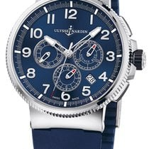 Ulysse Nardin Voyage Blue Marine Chronograph Manufacture 150...