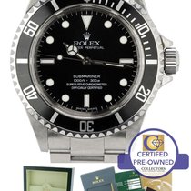 Rolex Submariner 4-Line No-Date 14060 M UNPOLISHED RANDOM SERIAL