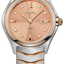 Ebel Gold/Steel 30mm Automatic Wave new