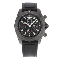 Breitling Blackbird Steel 43mm Black No numerals United States of America, New York, New York