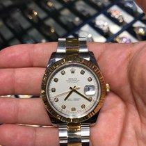 Rolex Datejust II Gull/Stål 41mm Romersk