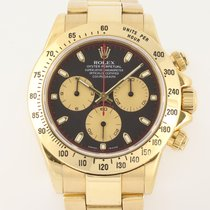 Rolex 116528 Yellow gold 2002 Daytona 40mm pre-owned United Kingdom, London