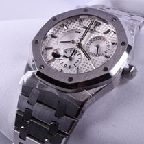 Audemars Piguet Royal Oak Dual Time Acero 39mm Sin cifras