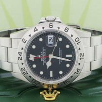 Rolex 16570 Steel Explorer II 40mm pre-owned United States of America, New York, New York