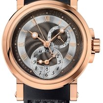 Breguet new Automatic 42mm Rose gold Sapphire crystal