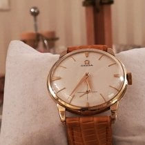 Omega De Ville Trésor pre-owned 35mm White Leather