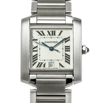 Cartier Tank Française Steel 36.5mm White United States of America, Texas, Houston