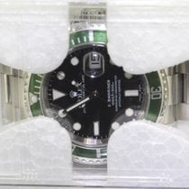 Rolex Steel Automatic Black 40mm new Submariner Date