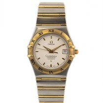 Omega Constellation pre-owned 36mm White Date Steel
