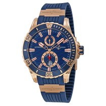 Ulysse Nardin Diver Chronometer Rose gold 44mm Blue United States of America, Pennsylvania, Uniontown