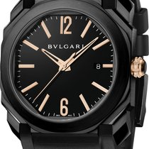 Bulgari Octo Steel 41mm Black Arabic numerals United States of America, Florida, Sunny Isles Beach