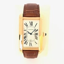 Cartier Tank Américaine Yellow gold 31mm White Roman numerals United States of America, New York, New York