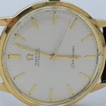 Omega 165.001 Yellow gold 1963 Seamaster 34mm pre-owned