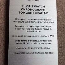 IWC Fliegeruhr Chronograph Top Gun Miramar 3890 neu
