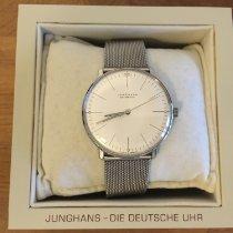 Junghans max bill Automatic Stahl 38mm Weiß Keine Ziffern Deutschland, Hamburg