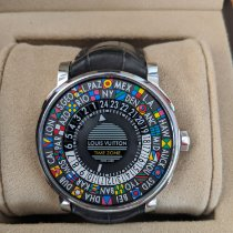 Louis Vuitton Steel 39mm Automatic Q5D20 pre-owned United States of America, Florida, Miami