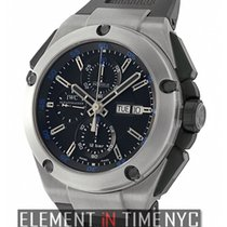 IWC Ingenieur Double Chronograph Titanium Titanium 45mm Black United States of America, New York, New York