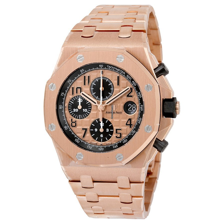 Audemars piguet royal oak offshore chronograph pink gold 42mm for 59 000 for sale from a for Royal oak offshore n7243