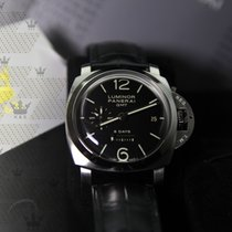沛納海 PAM00233    Luminor 1950 8 Days GMT Hand Wound