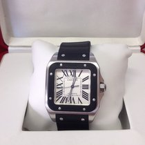 Cartier Santos 100 W20121U2 - Serviced By Cartier