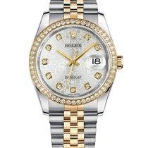 Rolex Datejust Gold/Steel 36mm No numerals UAE, Gold and Diamond Park Bulding #5 Dubai