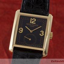 Patek Philippe Gondolo 18k Gold Handaufzug Herrenuhr Medium 5014