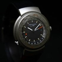 IWC Porsche Design World Traveler Time Alarm Titan – Full set...