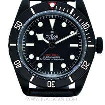 Tudor black PVD stainless steel Heritage Black Bay Dark