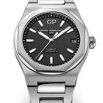 Girard Perregaux Laureato Steel 42mm Black No numerals
