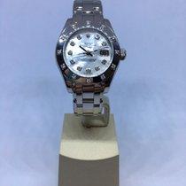 Rolex Lady-Datejust Pearlmaster Oro blanco 29mm Romanos