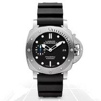 Panerai Luminor Submersible 1950 3 Days Automatic Steel 42mm Black No numerals