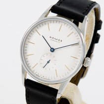 NOMOS Orion Steel 35mm Silver No numerals