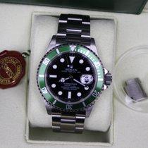 Rolex Submariner Date 50th Anniversary Green bezel Full Set  Mint