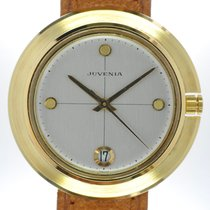 Juvenia Yellow gold 37.5mm Automatic 7555 R new